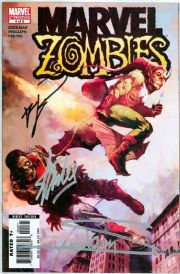 Marvel Zombies #4 Second Print Signed Stan Lee Robert Kirkman Arthur Suydam COA Marvel comic book